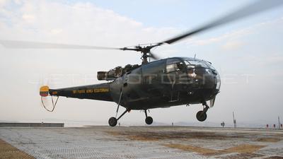 FAE367 - A�rospatiale SA 316B Alouette III - Ecuador - Air Force