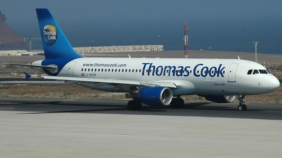 G-BXKB - Airbus A320-214 - Thomas Cook Airlines