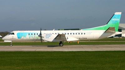 G-CDKA - Saab 2000 - Eastern Airways