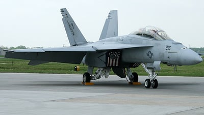 166558 - Boeing F/A-18F Super Hornet - United States - US Navy (USN)