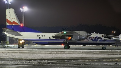 SP-FDO - Antonov An-26B - Exin