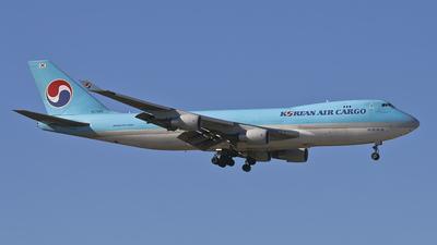 HL7403 - Boeing 747-4B5F(SCD) - Korean Air Cargo