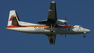 PH-RRF - Fokker 50 - Iberia Regional (Air Nostrum)
