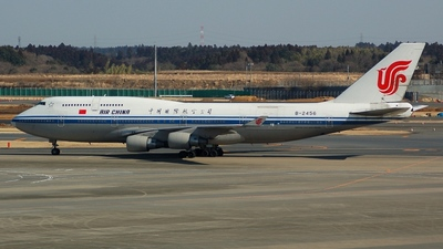B-2456 - Boeing 747-4J6(M) - Air China