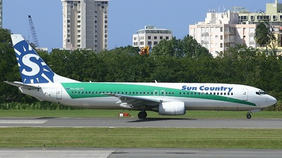 PH-HZI - Boeing 737-8K2 - Sun Country Airlines (Transavia Airlines)