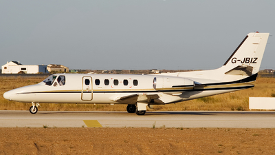G-JBIZ - Cessna 550 Citation II - 247jet