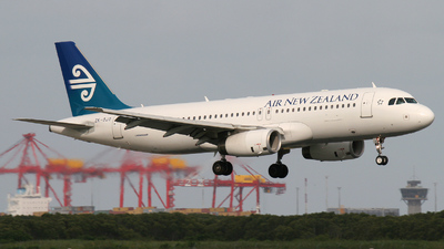 ZK-OJO - Airbus A320-232 - Air New Zealand
