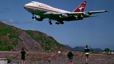 VH-EAA - Boeing 747SP-38 - Qantas