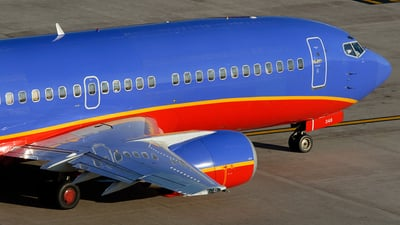 N348SW - Boeing 737-3H4 - Southwest Airlines