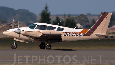 ZK-NAA - Piper PA-30-160 Twin Comanche C - Private