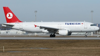 TC-JLH - Airbus A320-214 - Turkish Airlines