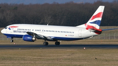 G-DOCP - Boeing 737-436 - British Airways