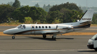 N80AW - Cessna 550 Citation II - Private