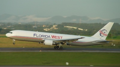 N316LA - Boeing 767-316F(ER) - Florida West International Airways