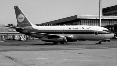 7O-ACQ - Boeing 737-2R4C(Adv) - Alyemda