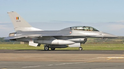 FB-09 - General Dynamics F-16BM Fighting Falcon - Belgium - Air Force