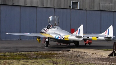 G-VTII - De Havilland Vampire T.11 - Private