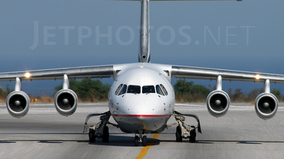 SX-DVF - British Aerospace Avro RJ100 - Aegean Airlines