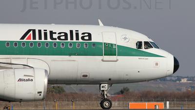 I-BIMC - Airbus A319-112 - Alitalia