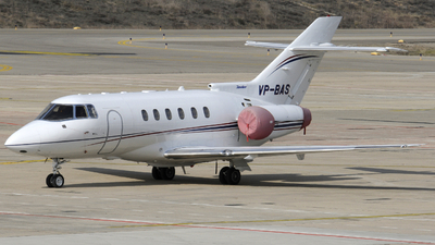 VP-BAS - Raytheon Hawker 800XP - Private