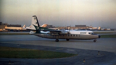 N4216 - Fairchild-Hiller FH-227B - Ozark Air Lines