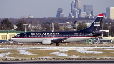 N393US - Boeing 737-3B7 - US Airways