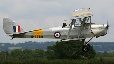 A picture of GANJA - De Havilland DH82 Tiger Moth - [82459] - © COLIN PEGGIE