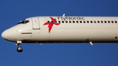 SE-RBE - McDonnell Douglas MD-82 - Nordic Airlink