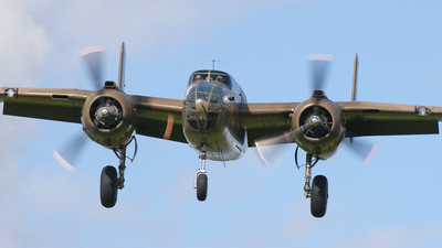 N320SQ - North American B-25N Mitchell - Duke of Brabant Air Force (DBAF)