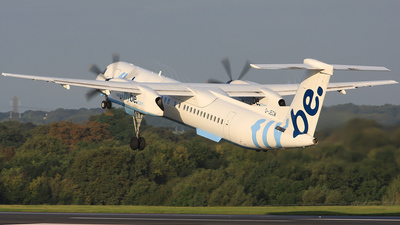 G-JECW - Bombardier Dash 8-Q402 - Flybe