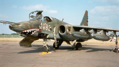 1002 - Sukhoi Su-25K Frogfoot - Czech Republic - Air Force