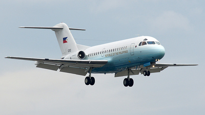 RP-1250 - Fokker F28-3000 Fellowship - Philippines - Air Force