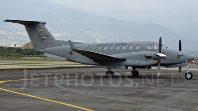 EJC1126 - Beechcraft B300 King Air 350 - Colombia - Army