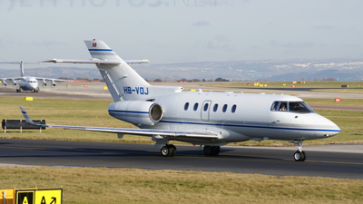 HB-VOJ - Raytheon Hawker 850XP - Private