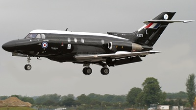 XS711 - Hawker Siddeley Dominie T.1 - United Kingdom - Royal Air Force (RAF)