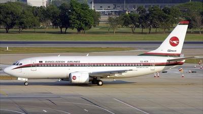 S2-AEB - Boeing 737-377 - Biman Bangladesh Airlines