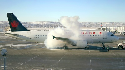 C-FTJQ - Airbus A320-211 - Air Canada