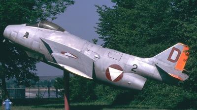 29588 - Saab J-29F Tunnan - Austria - Air Force