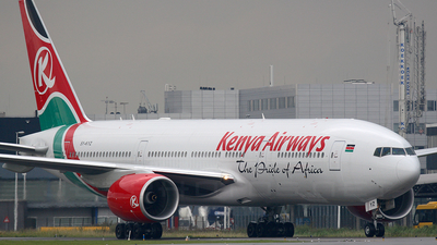5Y-KYZ - Boeing 777-2U8(ER) - Kenya Airways