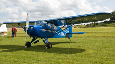A picture of GBTFJ - Piper PA15 Vagabond - [15159] - © Brian Whitelegg