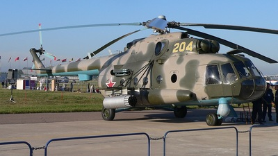 204 - Mil Mi-8MTV-1 Hip - Russia - Army