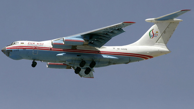 A picture of 4KAZ26 - Ilyushin IL76TD - Silk Way Airlines - © Paul Denton