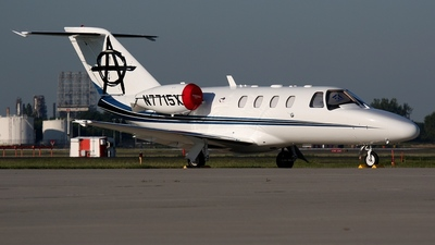 N7715X - Cessna 525A CitationJet 2 - Private