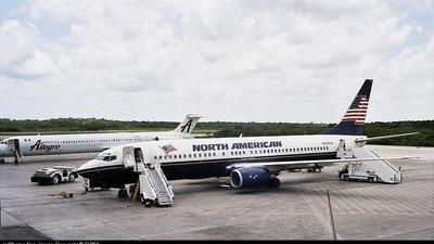 N800NA - Boeing 737-8Q8 - North American Airlines