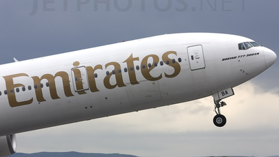A6-EBA - Boeing 777-31HER - Emirates