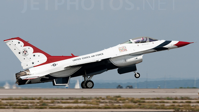 92-3881 - Lockheed Martin F-16CJ Fighting Falcon - United States - US Air Force (USAF)