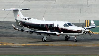 N643PC - Pilatus PC-12/45 - Private