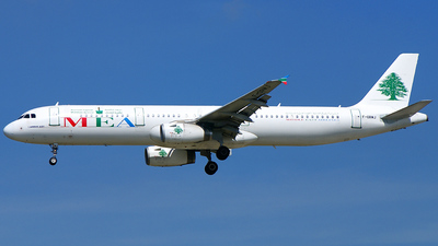 F-ORMJ - Airbus A321-231 - Middle East Airlines (MEA)