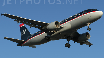N117UW - Airbus A320-214 - US Airways