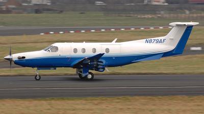 N879AF - Pilatus PC-12/47 - Private
